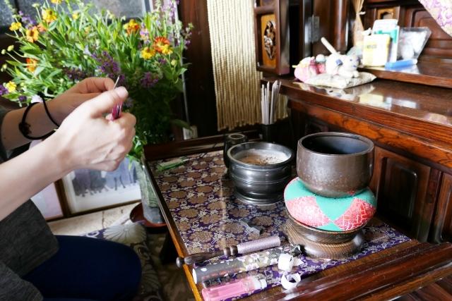 仏壇 お参り 作法